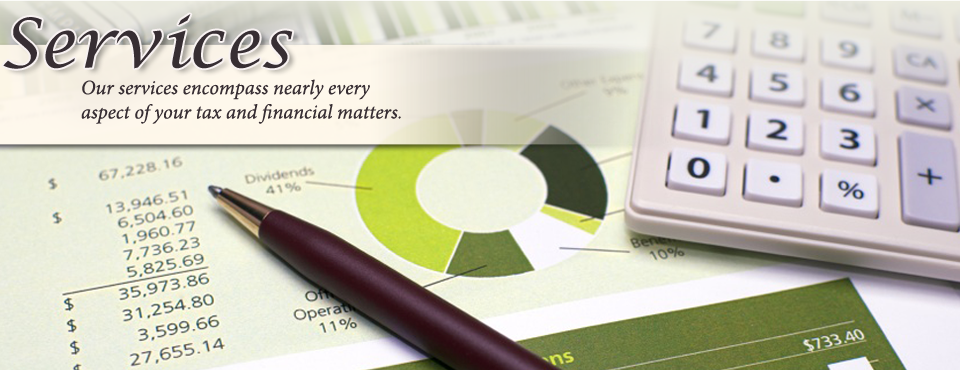 We offer a broad range of services to help clients secure a sound financial future.